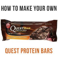 How To Make Low Carb Quest Protein Bars...and I really need to learn how and make my own...seriously.  I am Quest addicted.  www.MaMaCHANGE.com