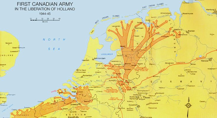 Liberation of the Netherlands  1944-45