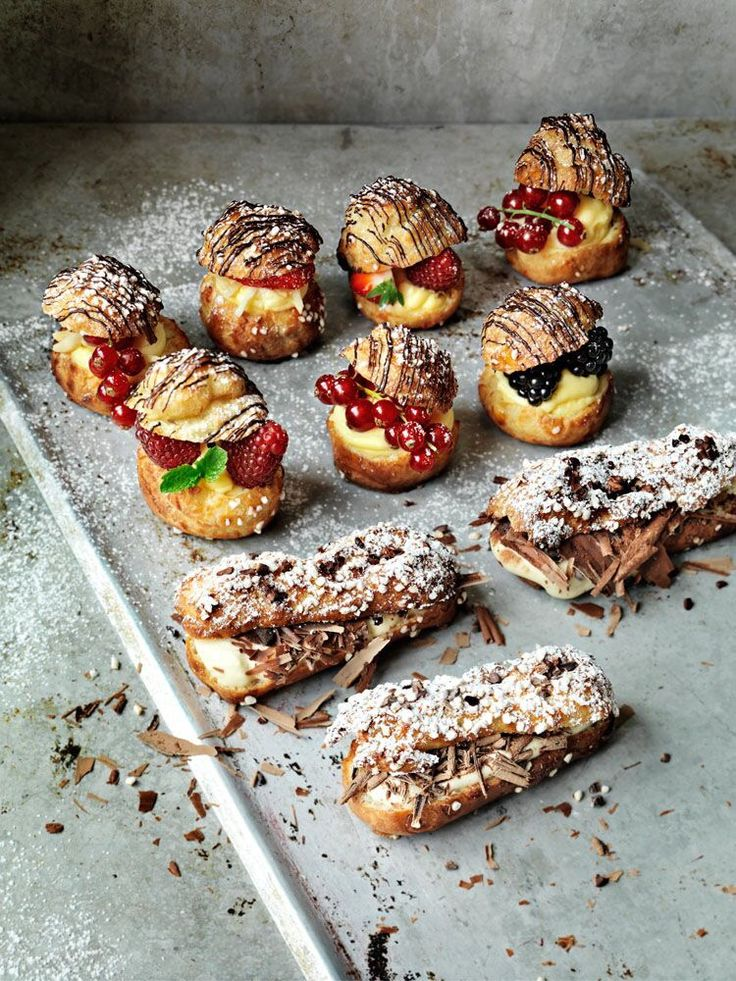Best Fin Dannée Images On Pinterest Eclairs Pastry Shop - Ukranian bakery creates eclairs so perfect eating them would be a crime