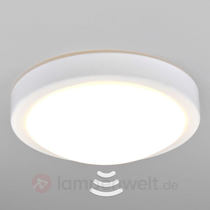 Lampen Badezimmer-LED-Deckenlampe Aras mit Sensor, weiß kaufen   Lampenwelt.de