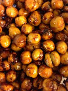 The Pursuit of Healthiness: Honey Cinnamon Crunchy Chickpeas