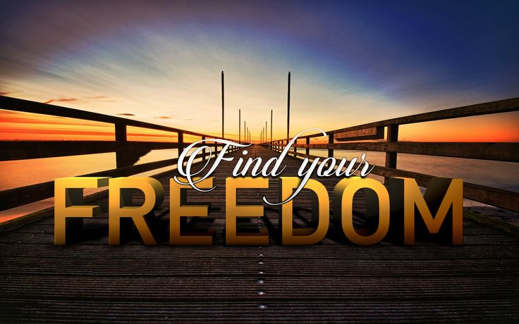 Find your Freedom | PS work