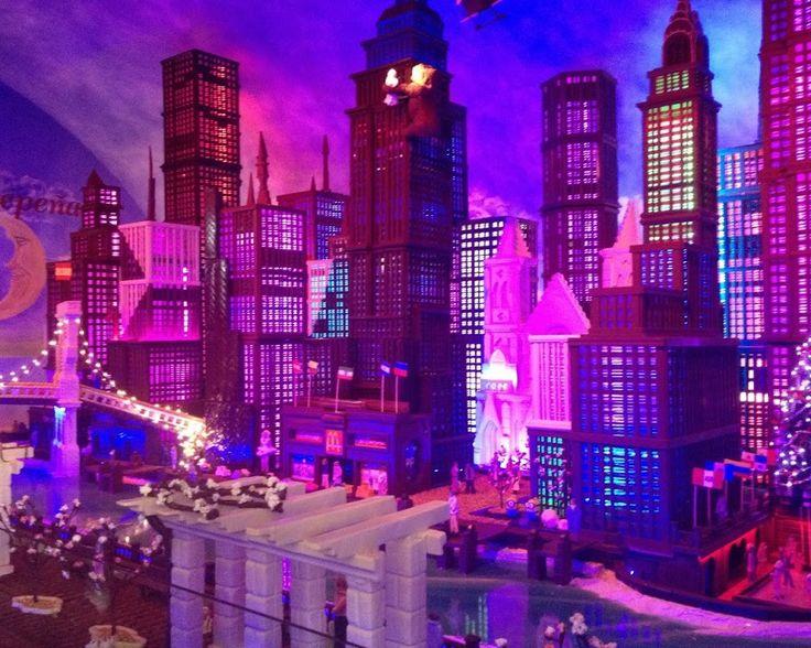 @LAESTEPENA #Museo del #Chocolate - #NewYork y #Frozen