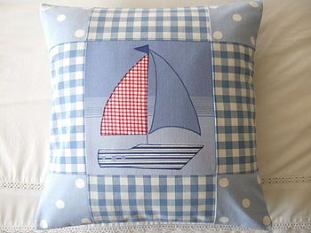 Nautical Boat Patchwork More
