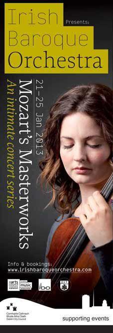 Irish Baroque Orchestra, Mozart's Masterworks #civicmedia2013 --- Dublin City Council Streetlamp Banners