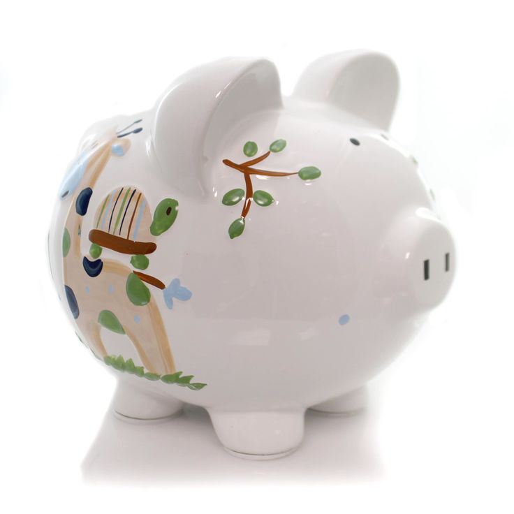 Bank Blue Tropical Punch Piggy Bank