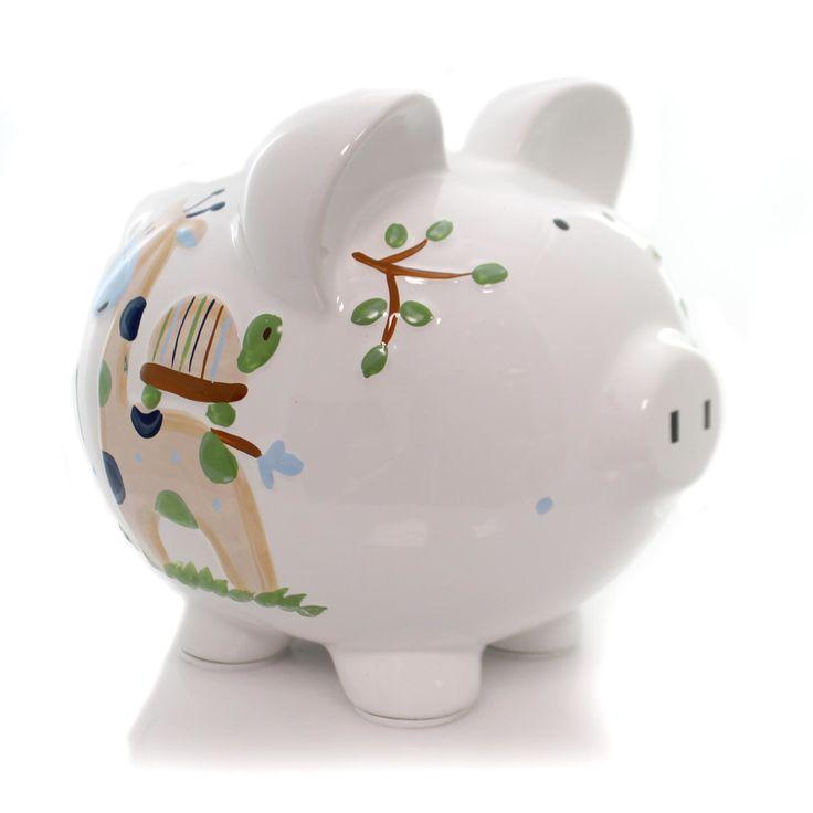 Bank Blue Tropical Punch Piggy Bank