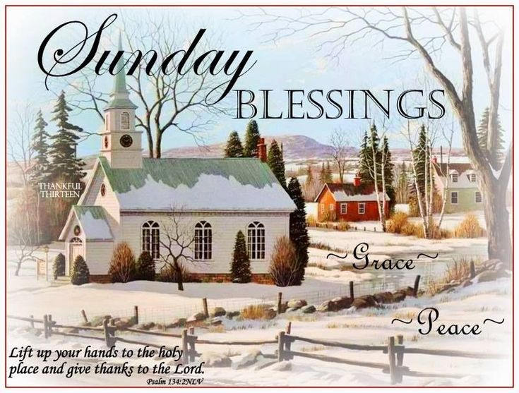 Sunday Blessings Grace And Peace