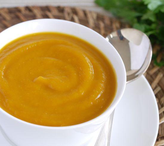 roast pumpkin soup - enlarge
