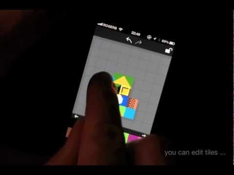 The Grix by eBoy – New pixel editor for the iPhone