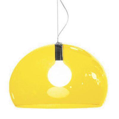 Kartell FLY Pendant Light (52cm Diameter Yellow): Amazon.co.uk: Kitchen & Home