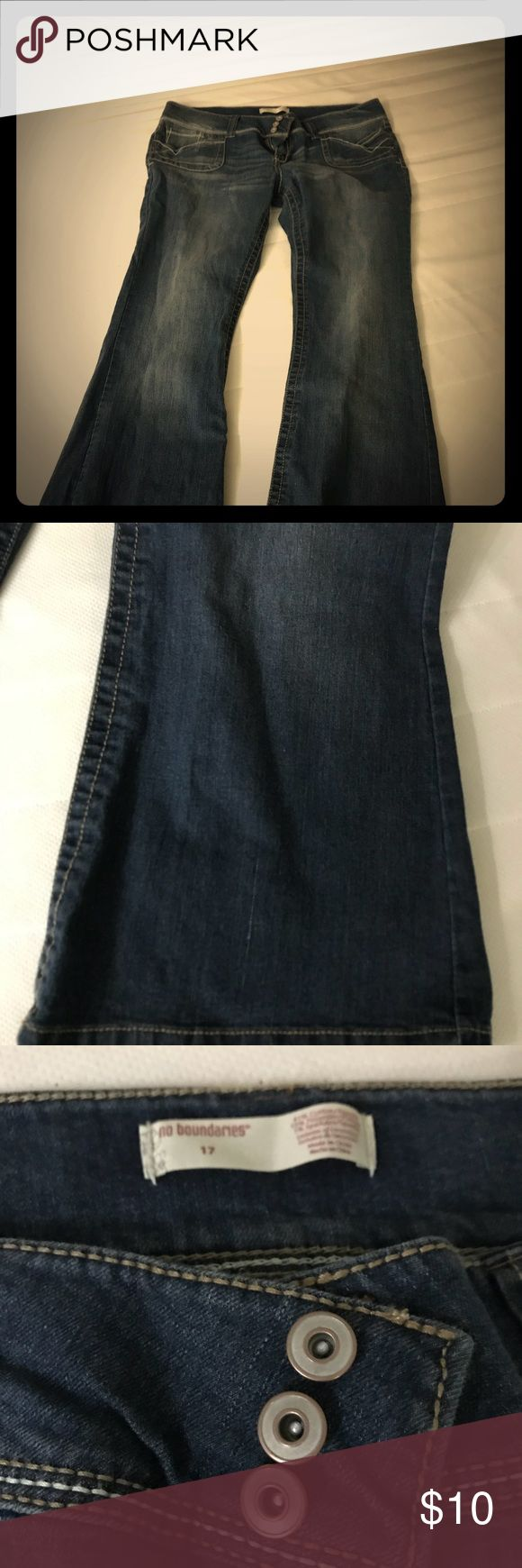 Women's jeans - NWOT Sits low on the waist, hence never worn. No Boundaries Jeans Boot Cut