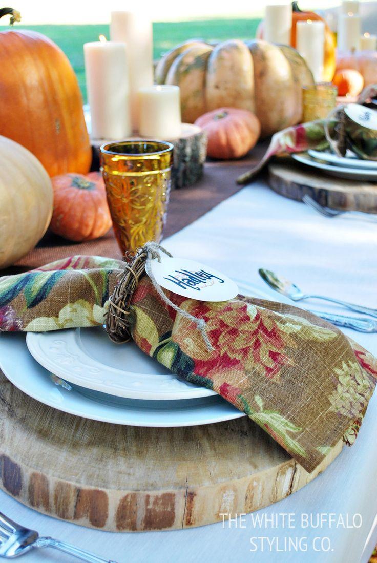 Lieblings-Herbst dekorieren Momente