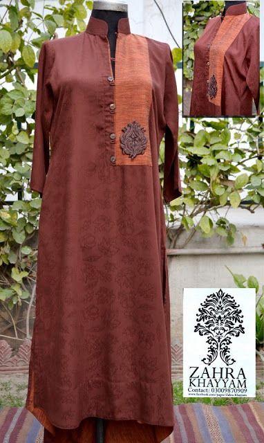 Zahra Khayyam Casual Shirts & Kurta's Collection 2013 For Women   V Luv Fash!on