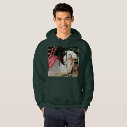 Ivory camel hoodie - photography gifts diy custom unique special