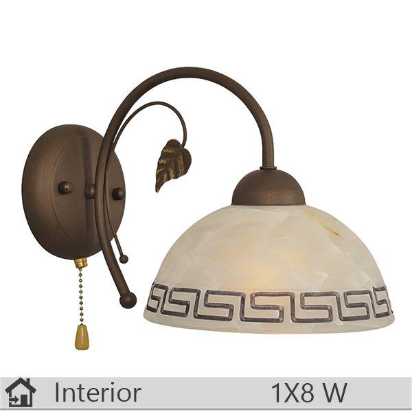 Aplica iluminat decorativ interior Klausen, gama Melba, model AP1 http://www.etbm.ro/aplica-iluminat-decorativ-interior-klausen-gama-melba-model-ap1