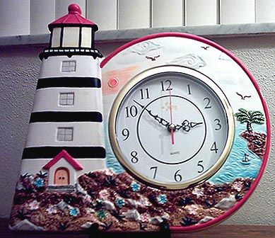 Beautiful Lighthouse Kitchen Decor .