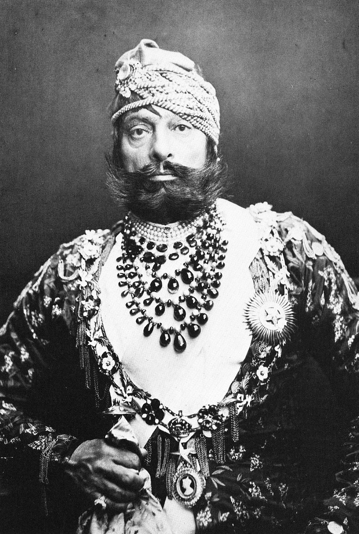 Maharaja of Jodhpur 1880's India
