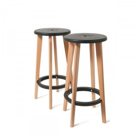 Tabouret Bar En Bois Good Tabourets Bar Bois Design Sign En Om With