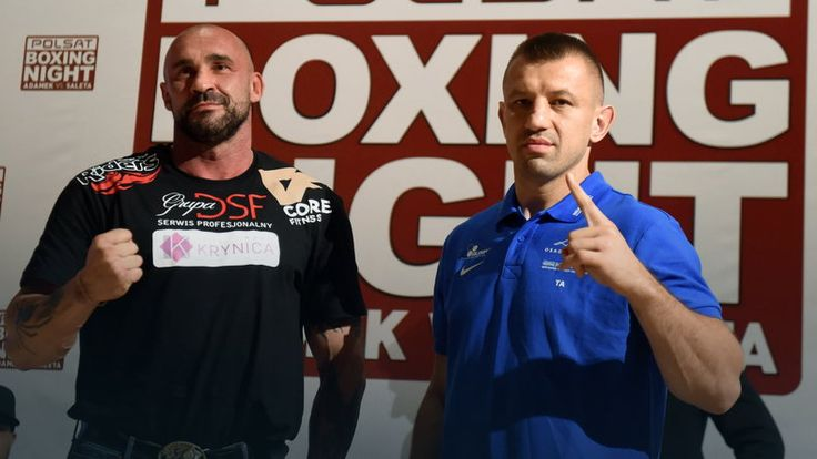 Polsat Boxing Night: Tomasz Adamek wyraźnie lżejszy od Przemysława Salety