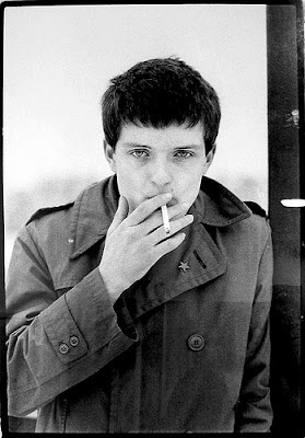 Ian Curtis singer: Joy Division  Sensitive man.  Hero (of the unknown)