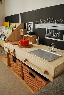 ■手作り、ままごとキッチン。■ : OURHOME