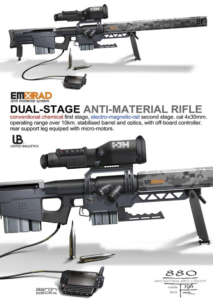 United Ballistics sniper #concept #art #creative #conceptart #reference #draw #sketch #speedpainting #digital #painting #speedpaint #paint #how to #tutorial #weapon #gun #future