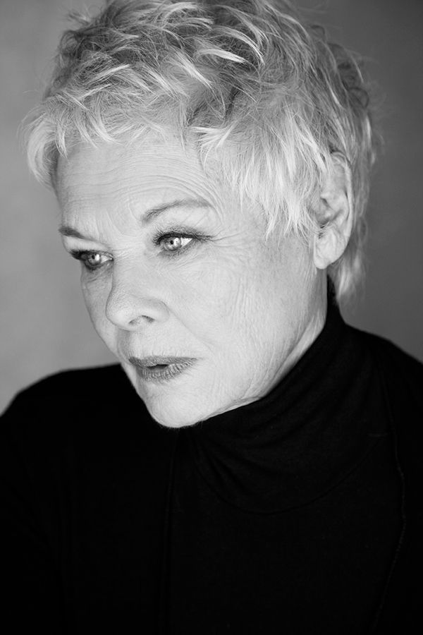 Judi Dench (1934) - English film, stage and TV actress, occasional singer and author. Photo by Sarah Dunn