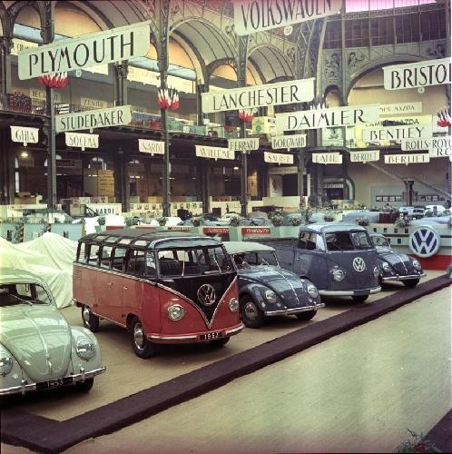 salon de l 39 auto 1954 au grand palais grandir a paris