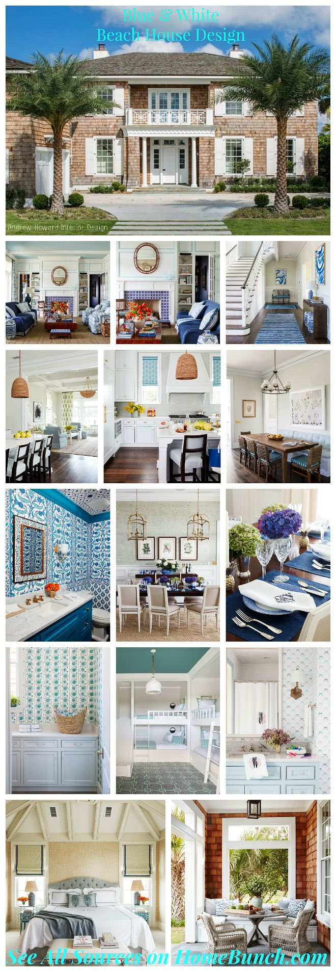 New 2017 Interior Design Tips and Ideas.  like the turquoise ceiling.  dmg