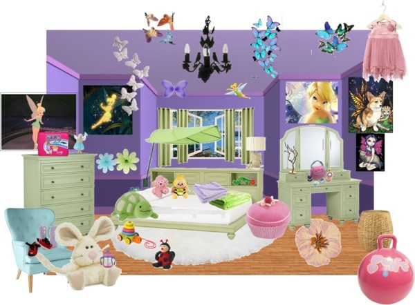31 best midsummer fairy magic images on pinterest child for Tinkerbell bedroom furniture
