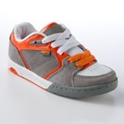 ORANGE Tony Hawk shoes...he had to have them!