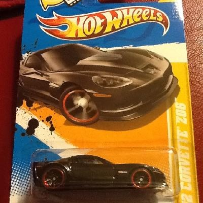 The new 2012 release Corvette Zo6 with thick Redline Wheels $2.88 ON SALE NOW