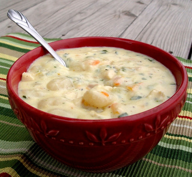 Chicken Gnocchi Soup...only takes about 30 minutes to prepare.