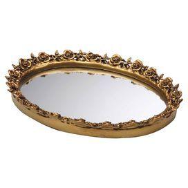 Clara Tray in Antique Gold