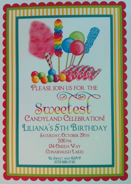 144 best lollipopcandyland party images on pinterest birthdays photo 10 of 17 candy birthday lilianas candyland catch my party stopboris Choice Image