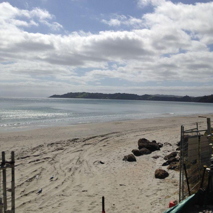 Beachside construction on Waiheke.