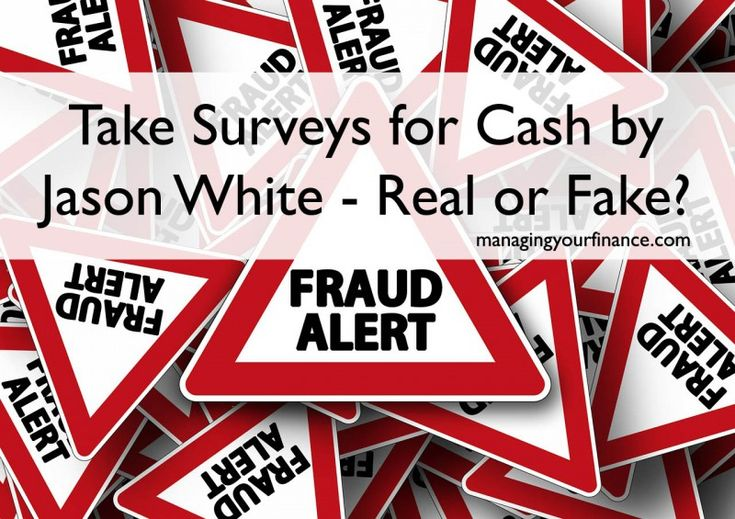 Take Surveys for Cash by Jason White – Real or Fake?