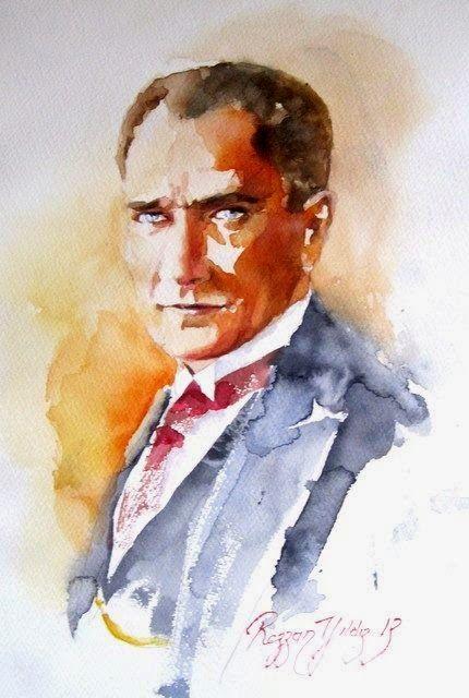 Art by Rezzan Yıldız II, Atatürk.