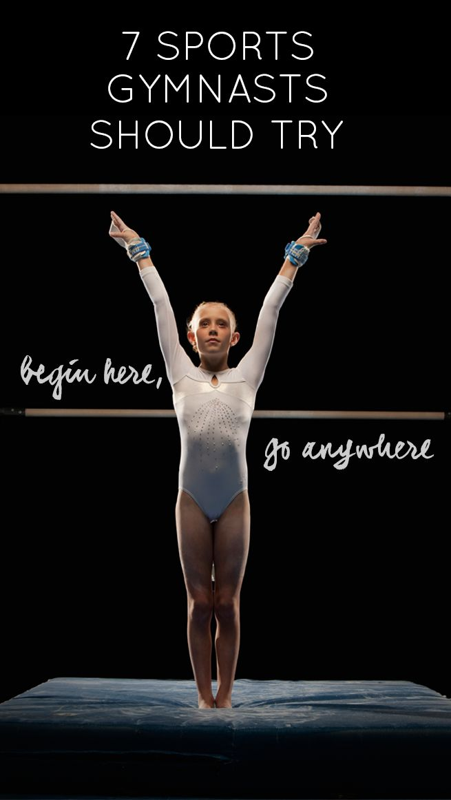 Retirement or diversification . . . 7 sports gymnasts should try!