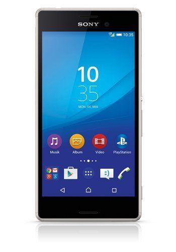 Sony E2303 Xperia M4 Aqua Smartphone, Argento [Italia]