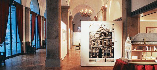 Ausstellung »Thomas Mann. Buddenbrooks« (25.11.2000 - 21.1.2001)