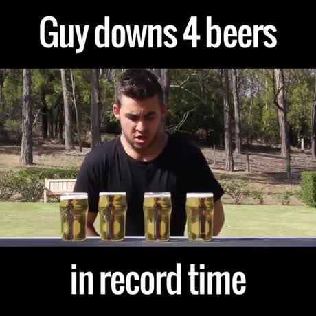 4 Beers in Record Timefunny, funny videos, funny video, funny clips, funny video clips, funny videos for kids, funniest video ever, watch funny videos, very funny videos, funny cat videos, funny animal videos, funny cats