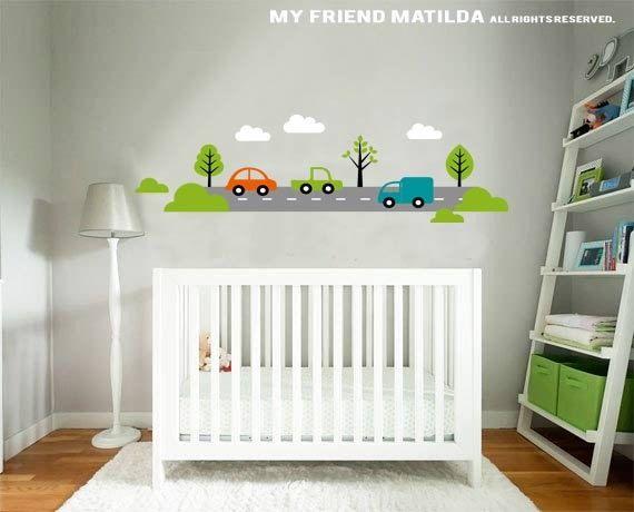 Car Wall Decal Boys Bedroom Nursery Transport Car Wall Decal Sticker Sur  Etsy, $89.00 CAD Part 66