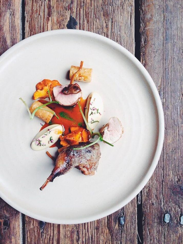 Burnt Heather Partridge With Celeriac Watercress Chanterelles | Recipes…