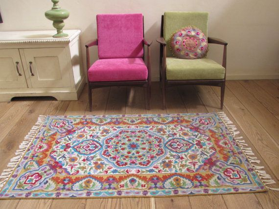Mandala rug,floral area rugs, 3x5 area rug, cool rugs,rugs online,rug for sale,affordable area rugs, FREE SHIPPING!