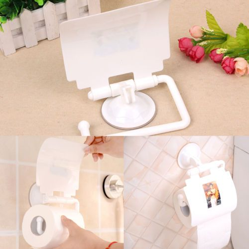 Hot-Sale-Plastic-Seamless-Strong-Vacuum-Suction-Cup-Toilet-Roll-of-Paper-Holder