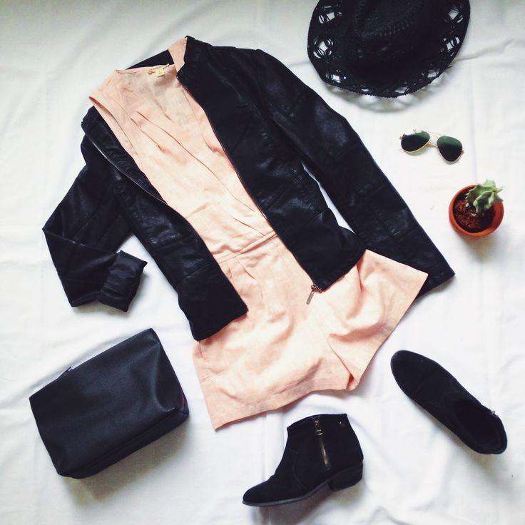 (combi-short:$29.98, jacket:$69.98, chapeau:$10) www.republiquecollection.com #fashion #mode #montreal #mtl #summerfashion #ootd #flatlay