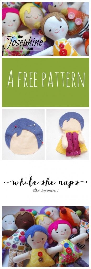 A free pattern for The Josephine Doll