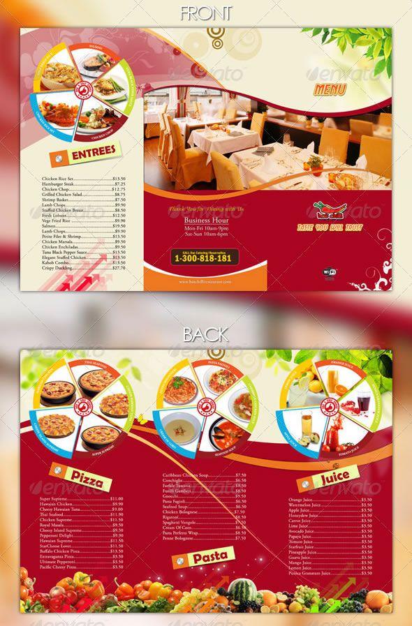 Http://blog.entheosweb.com/wp Content/uploads/. Restaurant Menu DesignClass  ScheduleFood MenuBrochuresMouths
